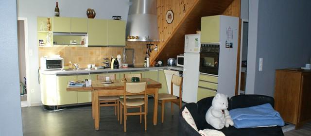 La cuisine du gite