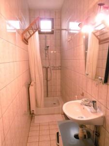 La salle de bain du rez-de-chaussé